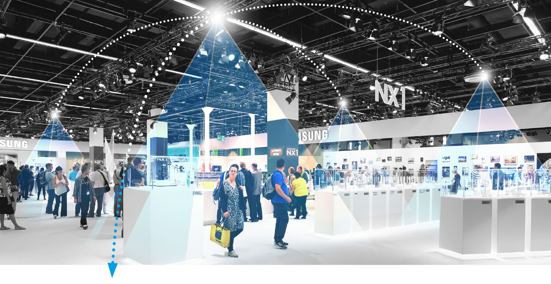 Exhibition Stand Photos : Smart exhibition stand oms iot systems